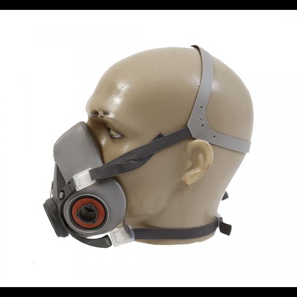 Respirador semifacial 6200 médio cinza - 3M