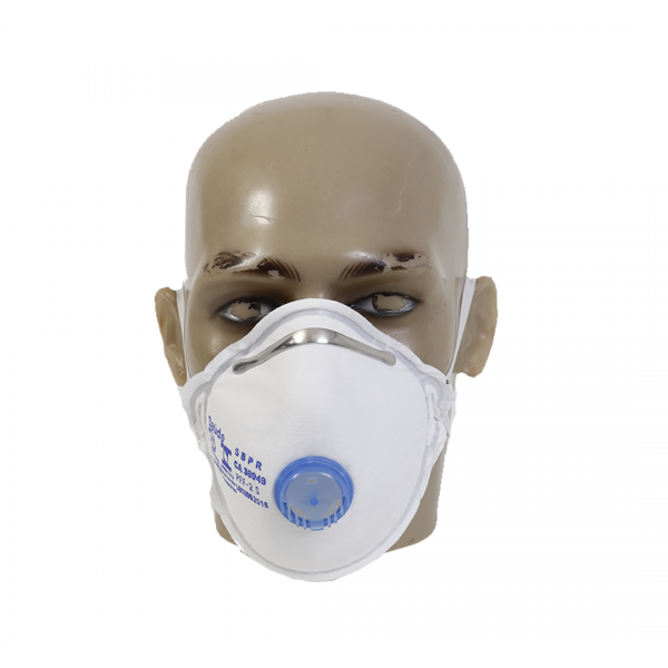 PACOTE COM 5 RESPIRADORES PFF2 CONCHA C/V AIR SAFETY