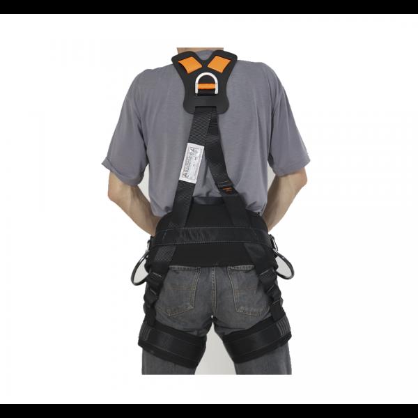 Cinto paraquedista abdominal regulagem total 5 pontos de ancoragem 2012 A - MULT