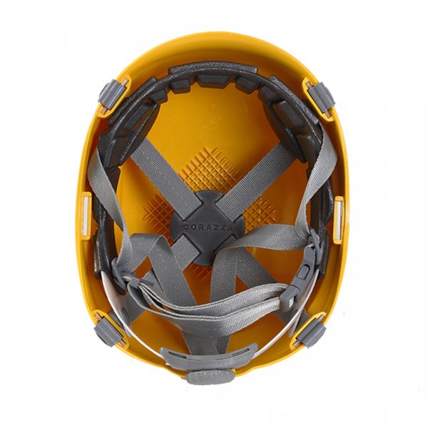 Capacete Corazza PRO B amarelo- ULTRA SAFE