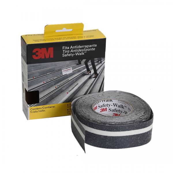 Fita antiderrapante Safety Walk fosforecente 5MT - 3M