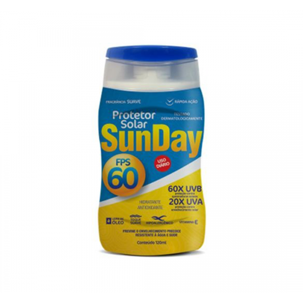 Protetor solar FPS 60 120ML - NUTRIEX