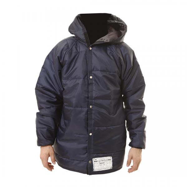 Jaqueta térmica resfriamento com capuz azul - PROTSPRAY