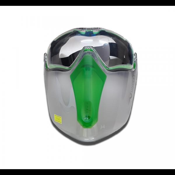 Kit Óculos/Máscara de proteção 6x3 - Univet