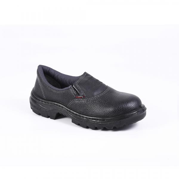 Sapato de elástico monodensidade sem biqueira preto - CRIVAL