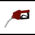 Bico de abastecimento automático 3/4 70L/M curto vermelho - BREMEN