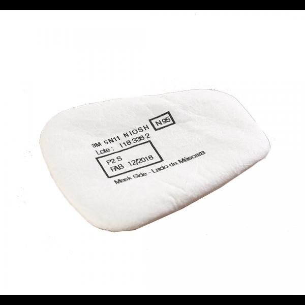Filtro para particulados 5N11 SERIE 6000/7500 branco - 3M