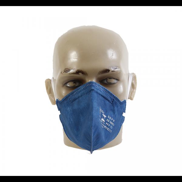 Respirador descartável PFF1 azul royal sem válvula - AIR SAFETY