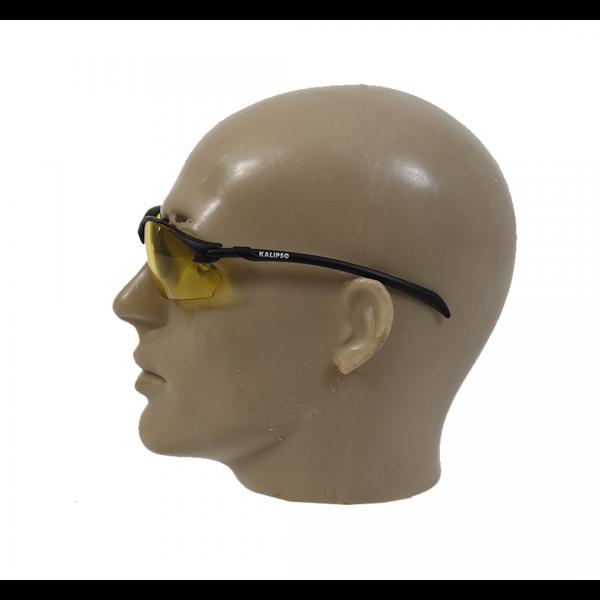 Óculos de segurança Capri Anti-Risco amarelo - KALIPSO
