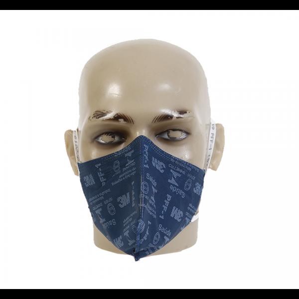 Respirador descartável PFF1 9810 azul sem válvula - 3M