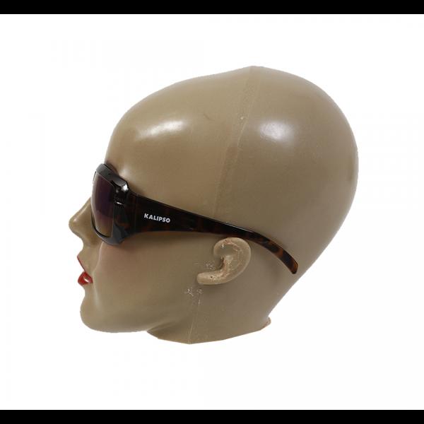 Óculos de segurança Ibiza Anti-Risco UVA/UVB cinza espelhado com armação tigrada - KALIPSO