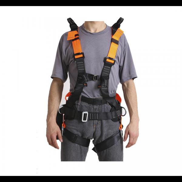 Cinto paraquedista regulagem abdominal com porta ferramentas - MULT