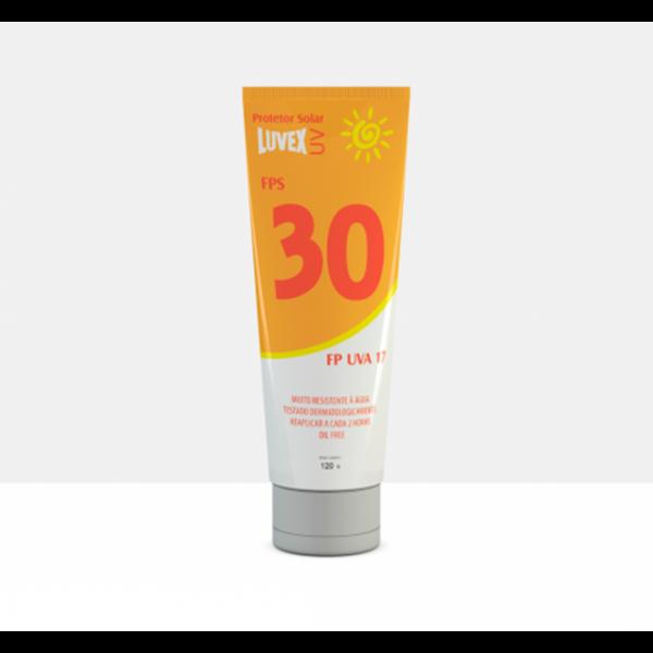 Protetor solar FPS 30 120 gramas - LUVEX