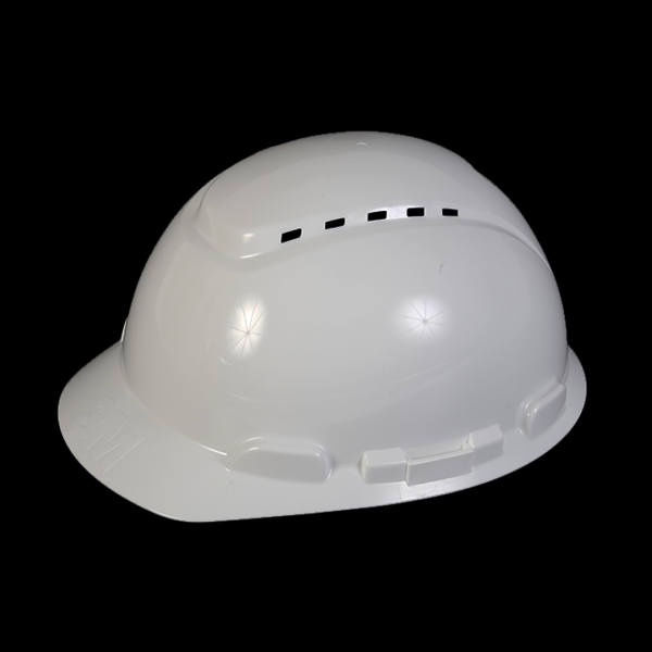 Capacete ventilado classe A com catraca H700 branco - 3M