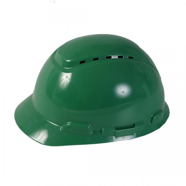 Capacete ventilado classe A com catraca H700 verde - 3M