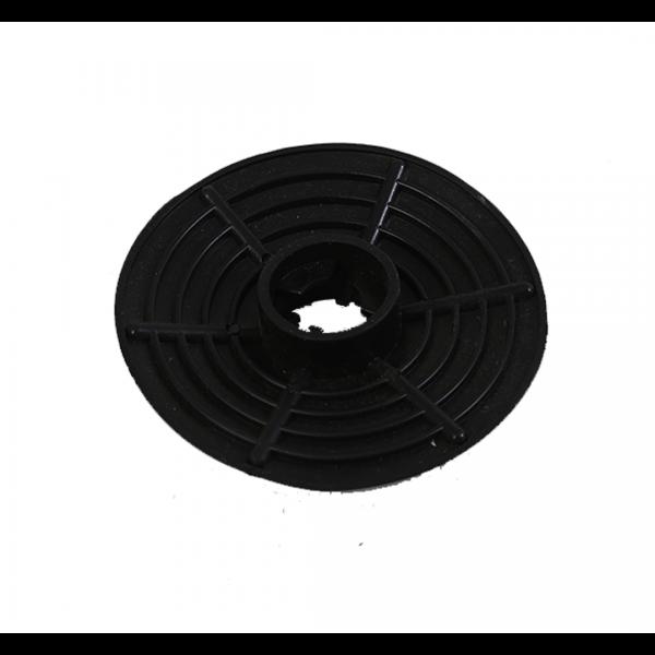 Rodilha vazão 3/4 protetor de respingo preto