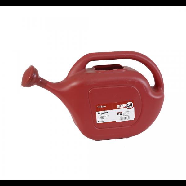 Regador de plástico 10L vermelho - VONDER