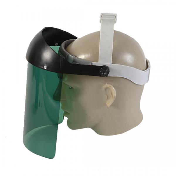 Protetor facial verde - PLASTCOR