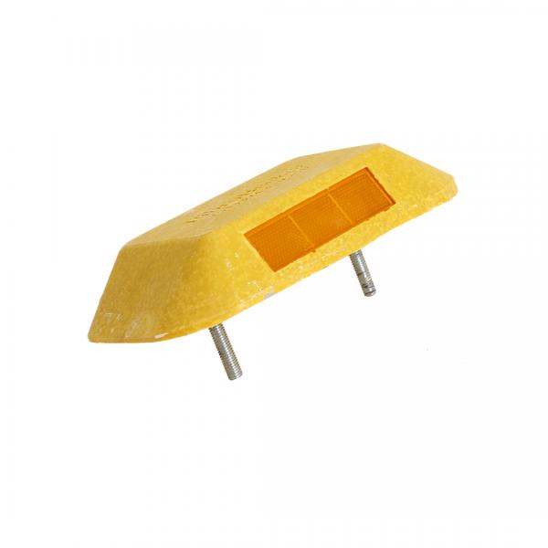 Tachão bi-direcional amarelo 25X15X5CM