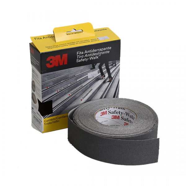Fita antiderrapante Safety Walk cinza 50MM X 20MT - 3M