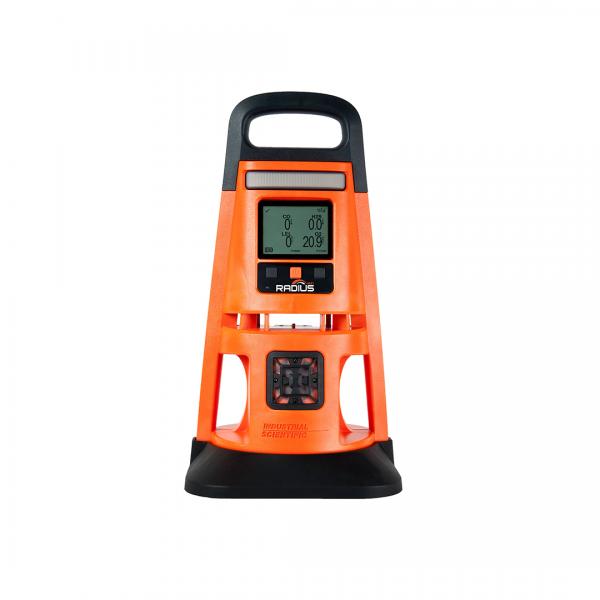Aanalisador de gases modelo RADIUS BZ1 laranja - INDUSTRIAL SCIENTIFIC