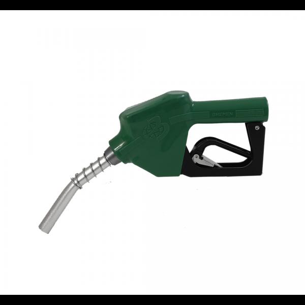 Bico de abastecimento automático 3/4 70L/M curto verde - BREMEN