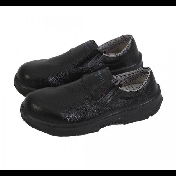 Sapato de elástico bidensidade com biqueira de composite preto - CONFORTO