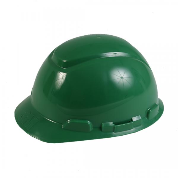 Capacete fechado classe B com catraca H700 verde - 3M