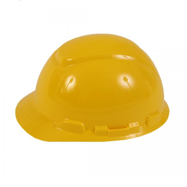 Capacete fechado classe B com catraca H700 amarelo - 3M