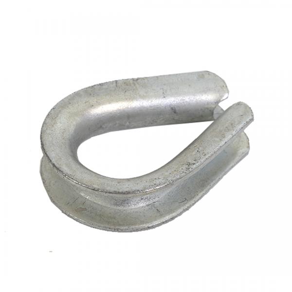 Sapatilha linha pesada 1/2 ZB para cabo de aço