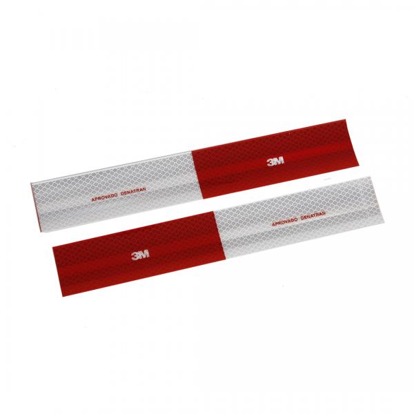 Fita adesiva refletiva para veículos 50X30MM - 3M