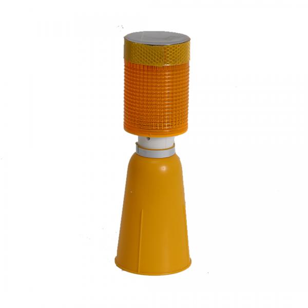 Sinalizador solar Unilamp cone - TELBRAS