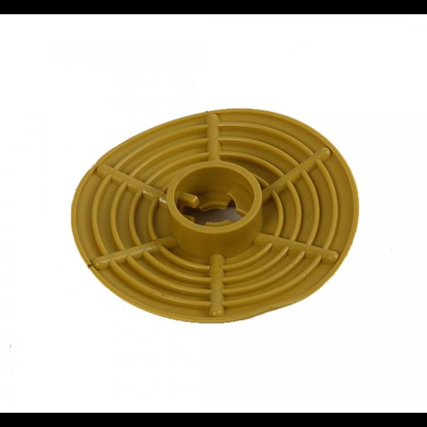 Rodilha vazão 3/4 protetor de respingo amarelo