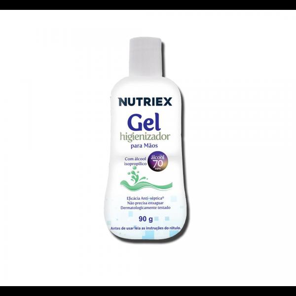 Álcool gel higienizador para as mãos 90g - Nutriex