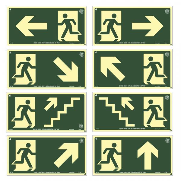 Placa indicação SETA