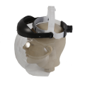Protetor facial esférico incolor com catraca - Ledan