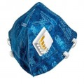 Respirador descartável PFF2 9822 com Válvula azul - 3M